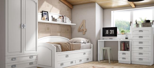 Crear una buena zona de estudio en las habitaciones juveniles rapimueble - Rapimueble dormitorios ...
