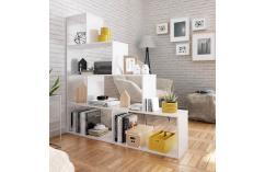 estantes en color blanco muebles baratos estanteria