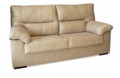 sofa cómoda de 2 plazas beige confort