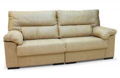 sofás 3 plazas de grandes dimensiones en beige piedra