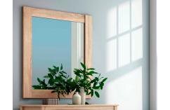 Espejo dormitorio de matrimonio en roble cambrian muebles baratos
