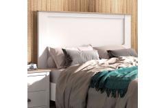 dormitorio matrimonio blanco y roble cambrian