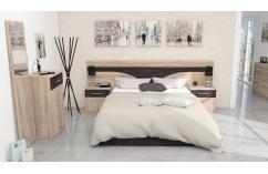 dormitorios matrimonio conjunto muebles baratos roble cambrian