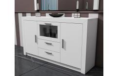 aparador blanco muebles baratos aparador líneas sencillas