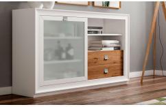 aparador salones en blanco roble muebles baratos