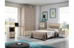 cabecero juvenil infantil 90 cm muebles baratos beige