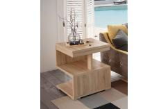 mesa rincón muebles baratos en roble cambrian en forma