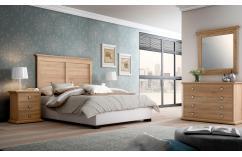 dormitorios matrimonio color roble cambrian estilo clasico
