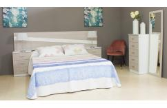 muebles baratos dormitorio matrimonio roble blanco