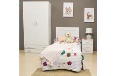 cabecero juvenil blanco liso  muebles baratos