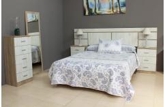 muebles baratos en roble cambrian nórdico dormitorio de matrimonio