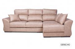 sofas chaiselongue derecha en beige sillones arcón respaldos reclinables