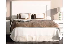 cabecero dormitorios matrimonio muebles baratos color blanco poro