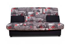 sofa cama sofas baratos negro estampado sillones