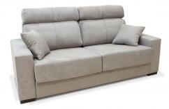 sofa cama apertura italiana gris suave