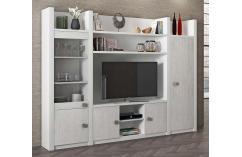 apilable de salón moderno blanco y gris salones