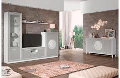 salon color blanco gris claro conjunto composición