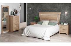 dormitorio en roble cambrian elegante moderno muebles baratos