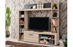 apilable de salon moderno muebles baratos roble grafito gris oscuro