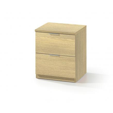 mesita dormitorios juveniles color roble cajones muebles baratos