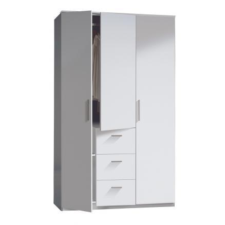 armario 3 puertas en blanco muebles baratos dormitorios juveniles