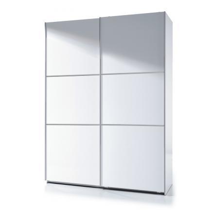dormitorios matrimonio muebles baratos blanco puertas corredera