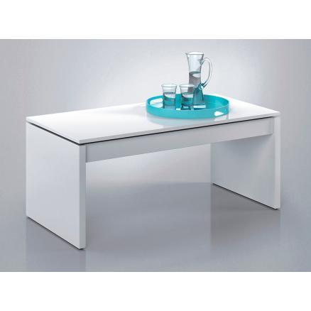 mesas de centro color blanco elevable mueble de sala