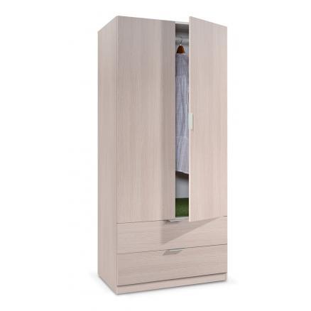 armario dormitorio juvenile muebles baratos roble puerta abatible