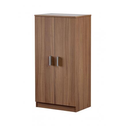 zapatero nogal muebles baratos armario auxiliar estantes