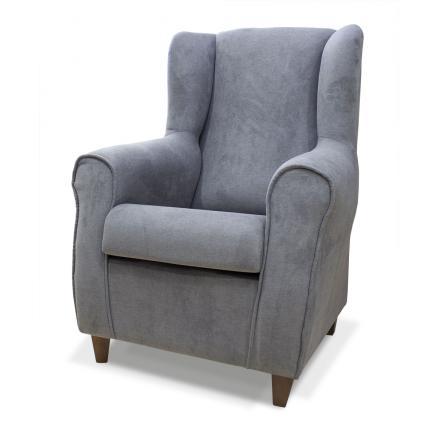 butaca en gris elegante tresillo 3 + 2 butaca salon recebidor