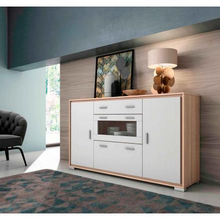 aparador muebles baratos cambrian blanco muebles salon