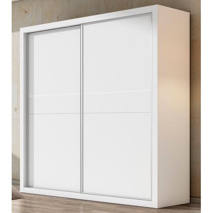 armario puertas correderas en blanco habitaciones juveniles