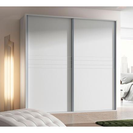 armario puerta corredera en blanco cajonera dormitorios juveniles