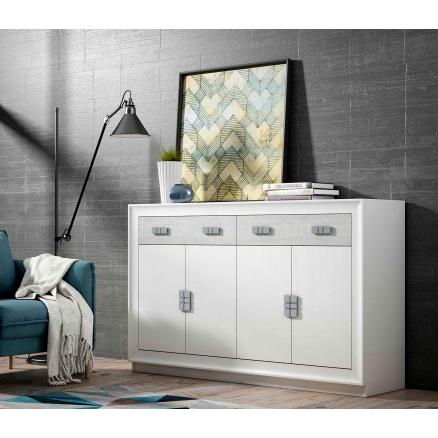 Aparador blanco poro muebles baratos muebles salon