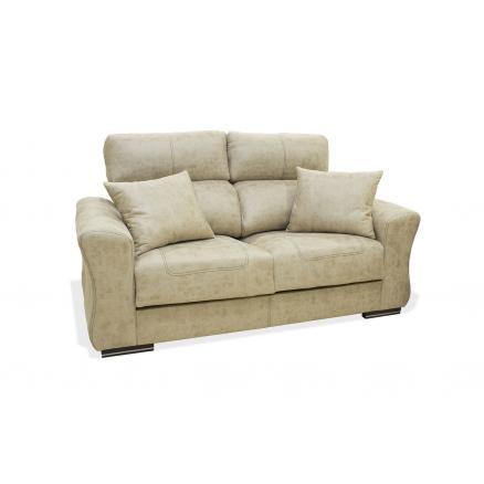 salones 3+2 sofás tapizado en beige