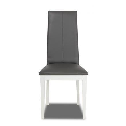 sillas tapizada color blanco resistente mesas comedor