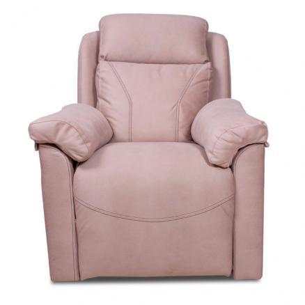 sillon relax con palanca cómodo beige resistente