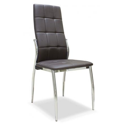 silla muebles salon muebles baratos color chocolate