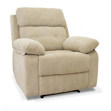 sillones automático gran confort tapizado en beige sofas baratos