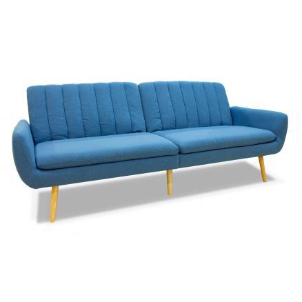 sofa cama moderno sofá cama muebles baratos en azul