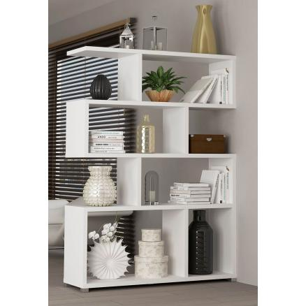 estante en color blanco muebles baratos estanteria