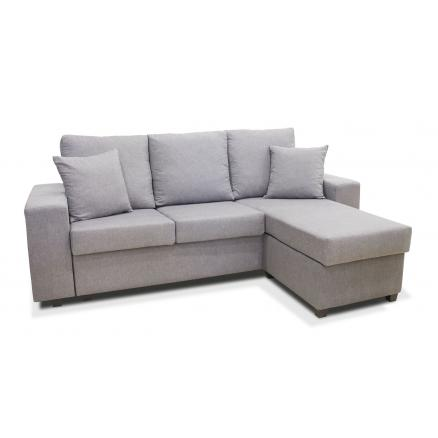 chaiselongue reversible 3 plazas reversible color gris suave