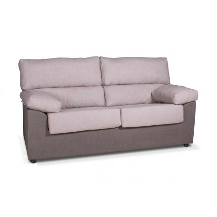 sofa relax gran resistencia en color camel 3+2 plazas