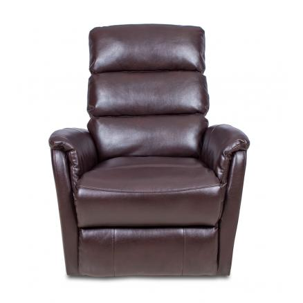 sillón sofa relax automático gran confort en marrón