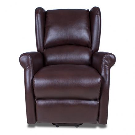 sillon relax eléctrico marrón sillones con mando