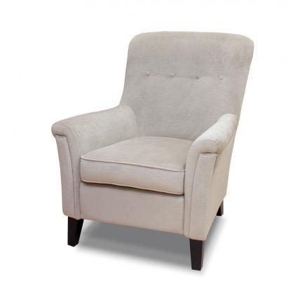 sillones butacas fijas color gris suave blanco roto cómoda