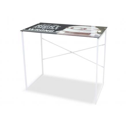 mesa estudio juvenil tapa de cristal muebles auxiliares