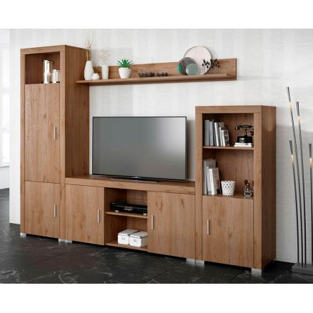 salones muebles roble mesa tv bodeguero muebles baratos