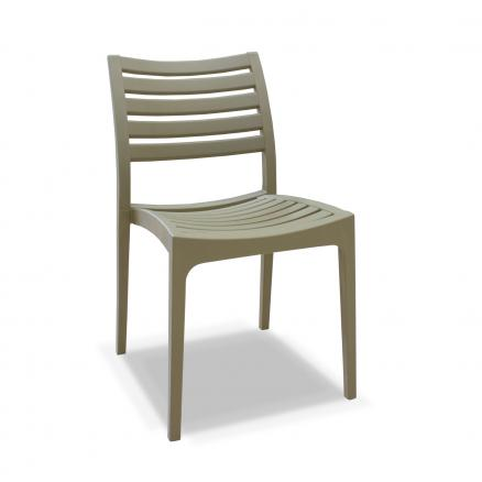 silla moderna en beige cocina salones