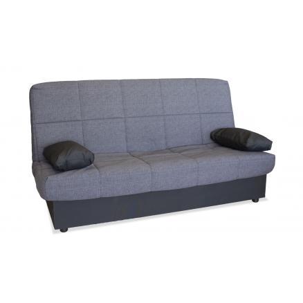 sofa cama desenfundable facil apertura gris y negro